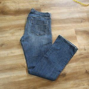Old Navy Long Sweatheart Boot Cut Jeans